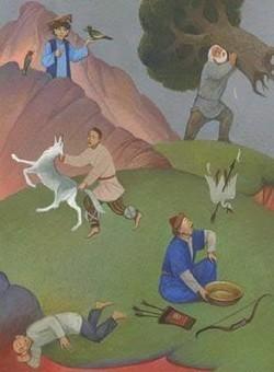 Дутан батыр татарская сказка