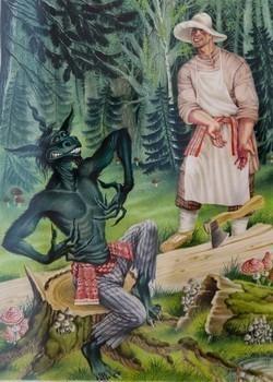 Шурале татарская народная сказка