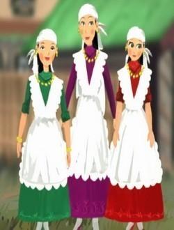 Три сестры сказка