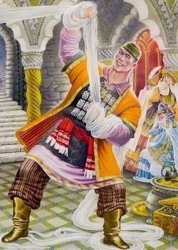 Турай Батыр татарская народная сказка