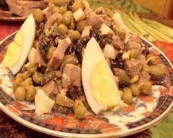 Татарский салат по домашнему