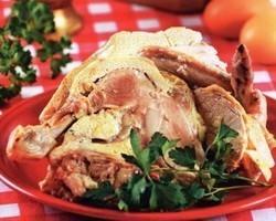 Тутырган тавык татарское блюдо