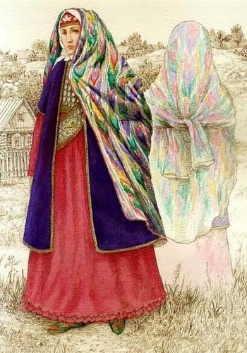Женская одежда татар
