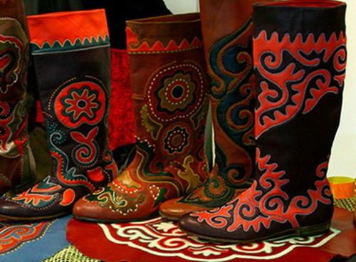 Татарская национаяльная обувь