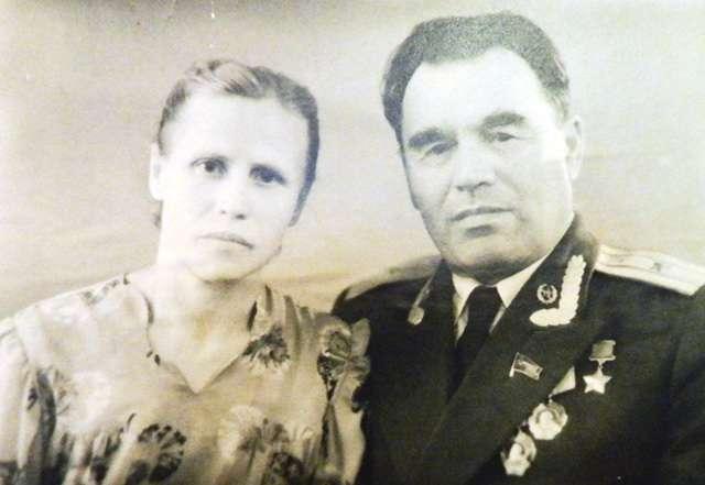 Гаврилов Пётр Михайлович с супругой