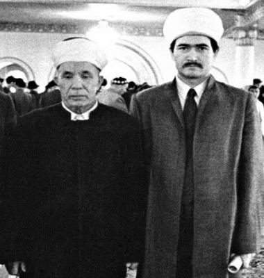 Имамы Басыров Ризаутдин и Гайнутдин Равиль