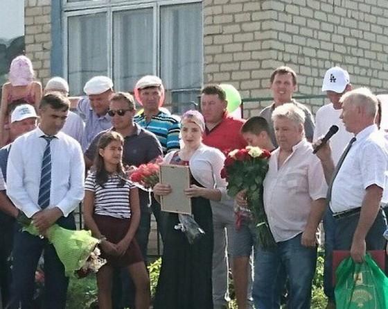 Алия Мустафина в с.Рыбушкино