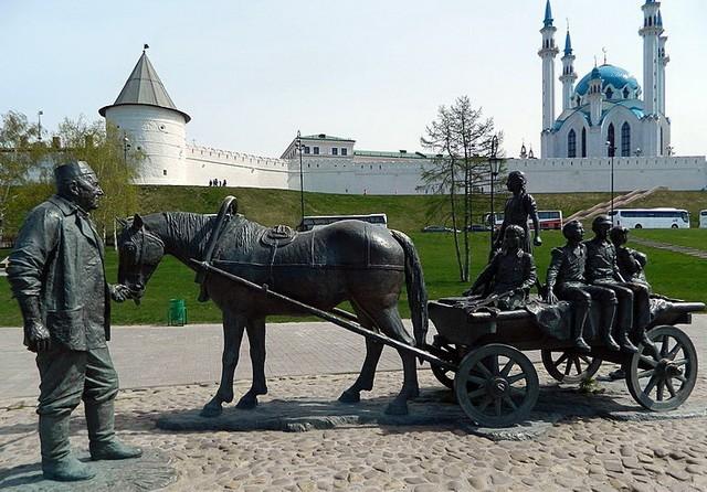 Памятник Асгату Галимзянову в Казани
