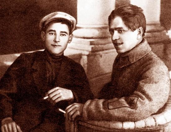 Хади Такташ и Габдрахман Минский