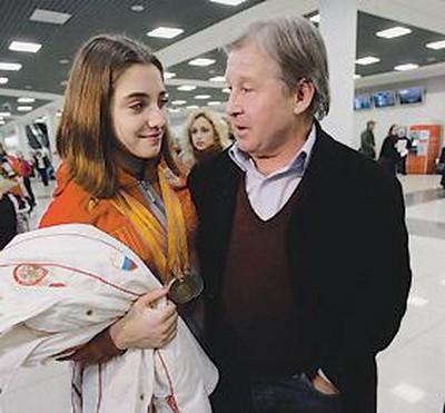 Мустафин Фаргат и дочь Мустафина Алия