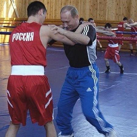Путин .В В и Саитов О.Э