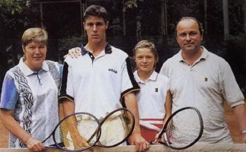 Семья Сафиных большой теннис