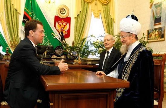 Талгат Сафа Таджуддин и Медведев Д.А