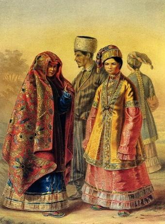 Татарская свадьба,обычаи.