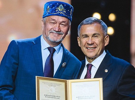 Айдар Файзрахманов и Рустам Минниханов