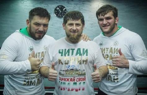 Чагаев Руслан и Кадыров Рамзан