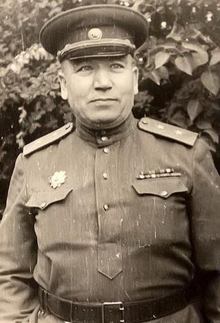 Генерал-лейтенант Чанышев Якуб