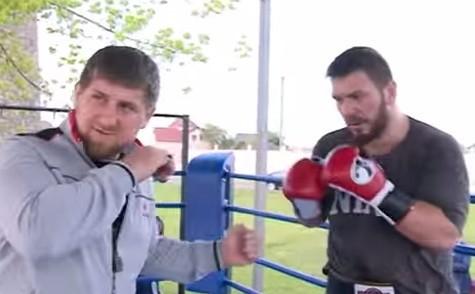 Кадыров и Чагаев бокс