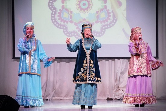 Найля Фатехова татарский концерт