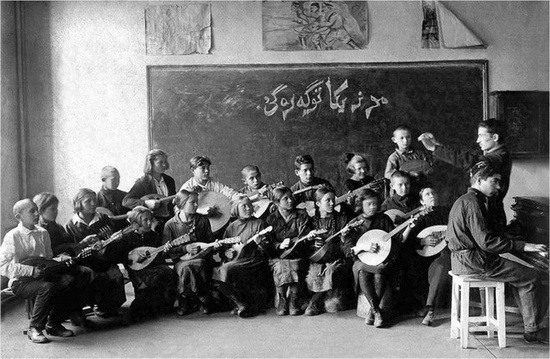 Молодые музыканты