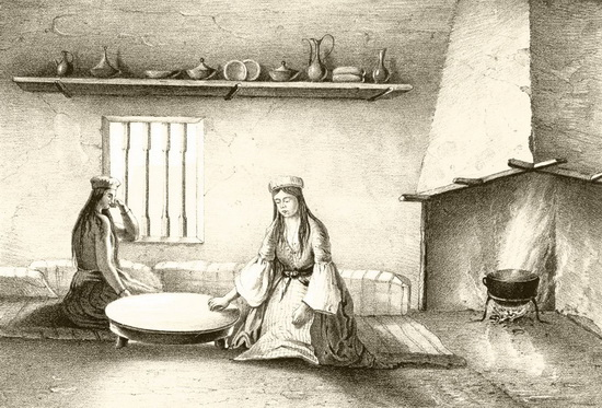 Татарский стол сервировка